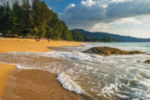 Der Nang Thong Beach in Khao Lak