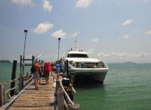 Anreise mit Lomprayah nach Koh Tao