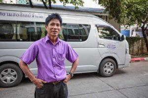 Anreise per Bus nach Khao Lak