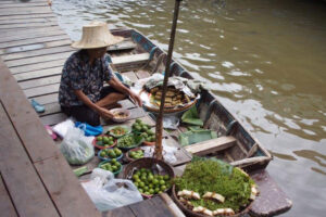 Unsere Floating Market Tour