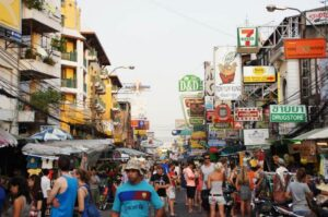 Khao San Road in Bangkok