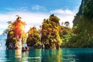 Natur und versteckte Trauminseln bei Krabi