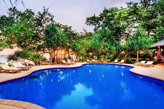 kohjumbeachvillas pool