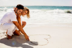 Flitterwochen oder Hochzeitsreise