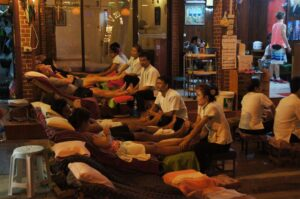 Massagen in der Khao San Road