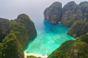 Berühmte Maya Bay auf Ko Phi Phi