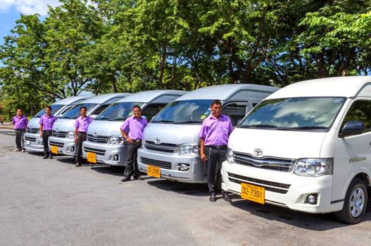 Mietwagen mit Fahrer in Thailand als Mietwagenrundreise