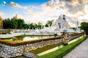 Wat Rong Khun - weißer Tempel