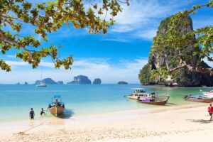 Der Phra Nang Beach in Krabi