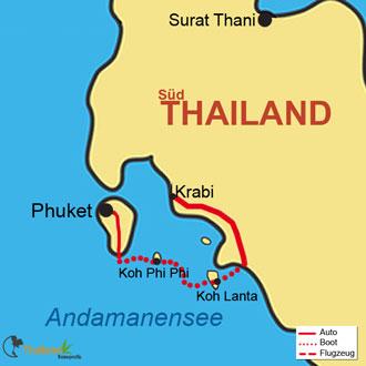 Ihre Inseltour von Phuket über PhiPhi nach Koh Lanta