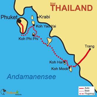 Ihre Inselreise durch die Trauminseln von Phuket
