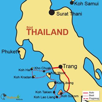 Ihre Inselerkundungen an der Andamanensee