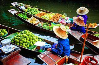 Von Bangkok in den Süden zum Hotelurlaub