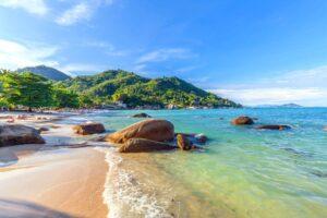 Der Silver Beach auf der Insel Koh Samui