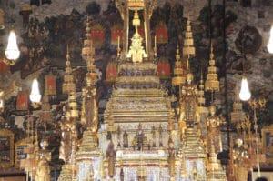 Der Smaragd Buddha beim Wat Phra Kaeo
