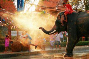 Songkran heute