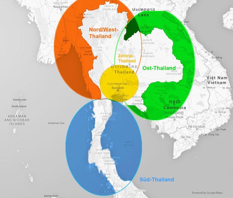 Reiseziele In Thailand Die Besten Regionen