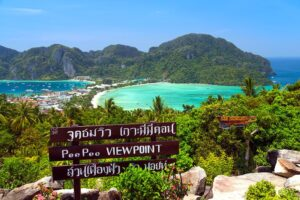 Der View Point 1 auf Koh-Phi-Phi