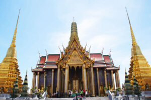 Der Wat Phra Kaeo Tempel